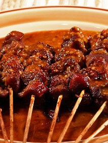 cocktail party food - malaysian satay