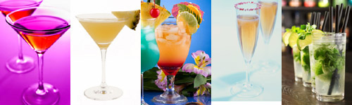 cocktail party ideas - drinks