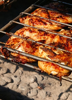 luau recipes - hawaiian bbq chicken
