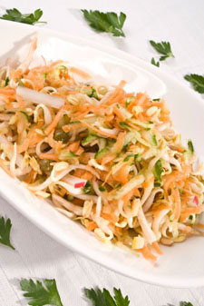 luau recipes - oriental cabbage salad