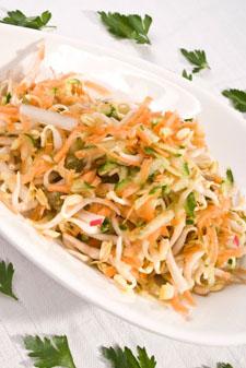 luau recipes - oriental cabbage salad