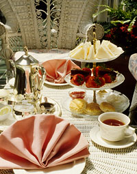 tea party ideas for food