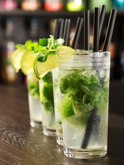 cocktail party recipes - mojito cocktail